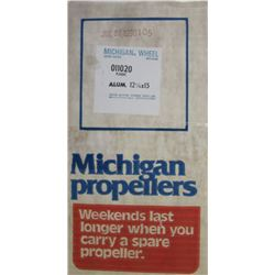 MICHIGAN 12-1/4 X 15 RH ALUMINUM PROPELLER