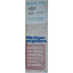 MICHIGAN 10-3/8 X 12-1/2 RH ALUMINUM PROPELLER