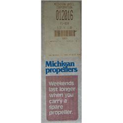 MICHIGAN 9.25 X 11 RH ALUMINUM PROPELLER