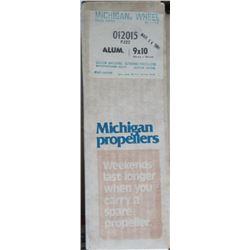 MICHIGAN 9 X 10 RH ALUMINUM PROPELLER