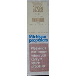 MICHIGAN 8.25 X 8 RH ALUMINUM PROPELLER