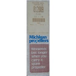 MICHIGAN 8.25 X 8 RH ALUMINUM PROPELLER