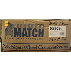 MICHIGAN 14 X 11 RH ALUMINUM PROPELLER