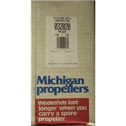 MICHIGAN 9 X 7 RH ALUMINUM PROPELLER