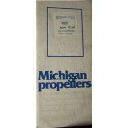 MICHIGAN 13-1/4 X 21 RH ALUMINUM PROPELLER
