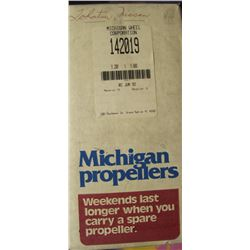 MICHIGAN 10.25 X 12 RH ALUMINUM PROPELLER