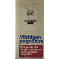 MICHIGAN 9.800 X 10.200 RH ALUMINUM PROPELLER