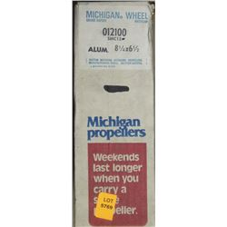 MICHIGAN 8-1/4 X 6-1/2 RH ALUMINUM PROPELLER