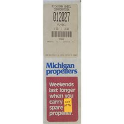 MICHIGAN 10.5 X 10 RH ALUMINUM PROPELLER