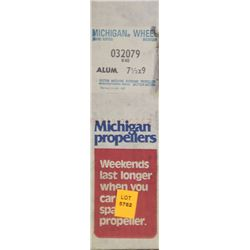 MICHIGAN 7-1/2 X 9 RH ALUMINUM PROPELLER