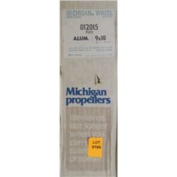 MICHIGAN 9 X 10 RH ALUMINUM PROPELLER