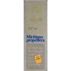 MICHIGAN 9.25 X 12 RH ALUMINUM PROPELLER