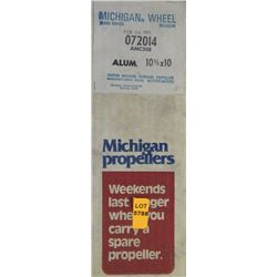 MICHIGAN 10-3/8 X 10 RH ALUMINUM PROPELLER