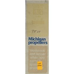 MICHIGAN 9 X 9 RH ALUMINUM PROPELLER