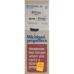 MICHIGAN 8-1/4 X 6 RH ALUMINUM PROPELLER