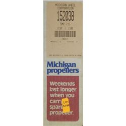 MICHIGAN 10.5 X 12 RH ALUMINUM PROPELLER