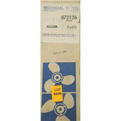 MICHIGAN 7 X 6-1/2 RH ALUMINUM PROPELLER
