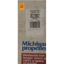 MICHIGAN 9.875 X 10.5 RH ALUMINUM PROPELLER