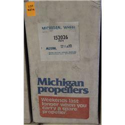 MICHIGAN 11-1/2 X 10 RH ALUMINUM PROPELLER