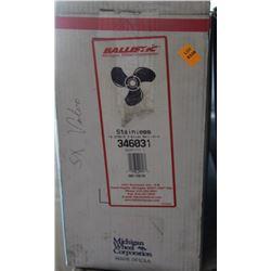 BALLISTIC 14.875 X 15 RH STAINLESS PROPELLER