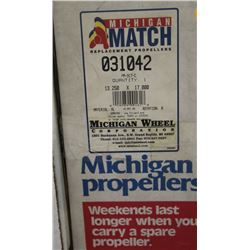 MICHIGAN 13.25 X 17 RH ALUMINUM PROPELLER
