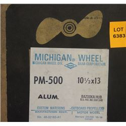MICHIGAN 10-1/2 X 13 RH ALUMINUM PROPELLER