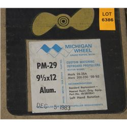 MICHIGAN 19-1/2 X 12 RH ALUMINUM PROPELLER