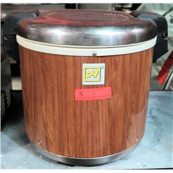 50-Cup Rice Warmer, Model SEJ-21000, Wood Grain