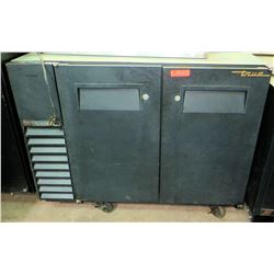 True Swing-Door Back Bar Cooler, Model TBB-24GAL-48