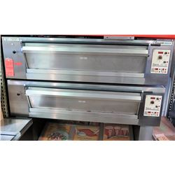 Tom Chandley Compacta 2-Tier Electric Pizza Oven, 208V