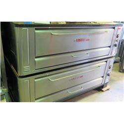 "Blodgett Double-Deck Pizza Oven, Propane Gas, Approx. 77""W x 44""D x 56""H"