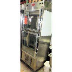 Utility Dual-Temp Refrigerator Freezer, 115V, Model RF-30-55-2G-N-C