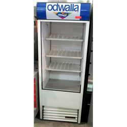 True Single-Door Bottle Merchandiser Refrigerator