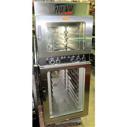 Nu-Vu Double Deck Proofer Oven Combo, 3-Phase, Model OP-3/9M