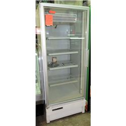 Universal Nolin Glass Door Freezer w/ New Compressor, Model ULG30B5