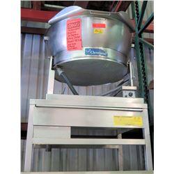 Cleveland 15 Gallon Tilting Skillet 3 Phase Model SET-17