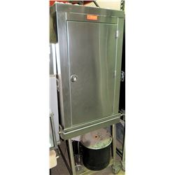 """Stainless Multi Rack Cabinet w/Wheeled Base 23.5""""W x 28.5""""D x 73""""H"""