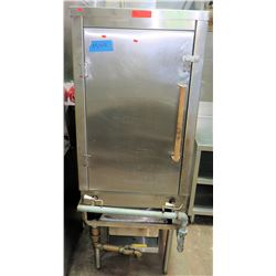 "Tall Stainless Single-Door Chinese Roasting Oven 24""W x 31""D x 69""H"