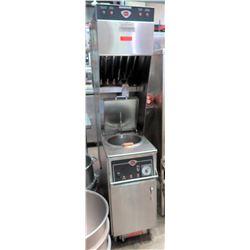 Wells Ventless Hood w/ 3 Phase Deep Fryer, Model WVAE30F