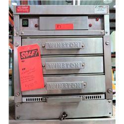Winston 3-Drawer Food Warmer, Model HB30D3GD