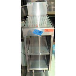 "Glas Tender Underbar Drainboard Cabinet Model DBCB-12 (12""W x 24""D x 36""Back Height)"