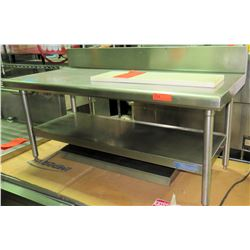ECI Stainless Steel Prep Work Table w/ Under Shelf