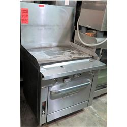 """Southbend 36"""" Grill w/ Oven (NAT) Platinum Model P36D-GGG"""