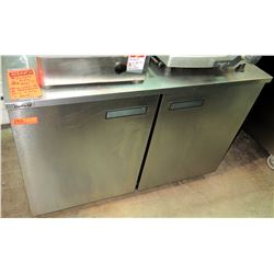 Delfield Under Counter 2 Door Refrigerator