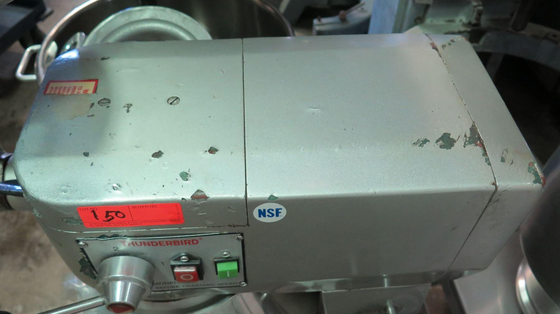 Thunderbird ARM30 Planetary Mixer, Bench Model w