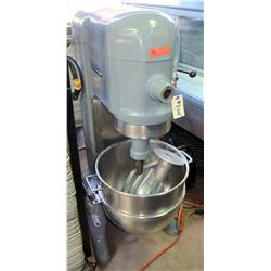 "Hobart Commercial Mixer Model H600  w/ Attachments, 115V, Refurbished, Approx. 55""H"