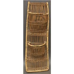 HUPA INDIAN BASKETRY WALL POUCH