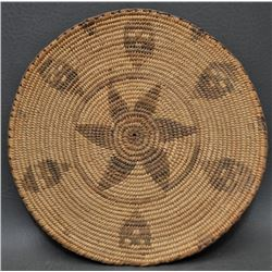 PIMA INDIAN BASKETRY PLAQUE