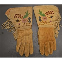 CREE INDIAN GAUNTLETS