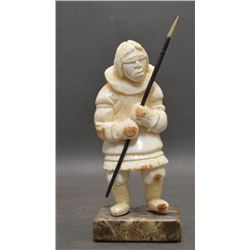 INUIT INDIAN IVORY FIGURE